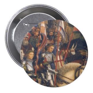 Knights of Christ Ghent Altarpiece Jan van Eyck Pin