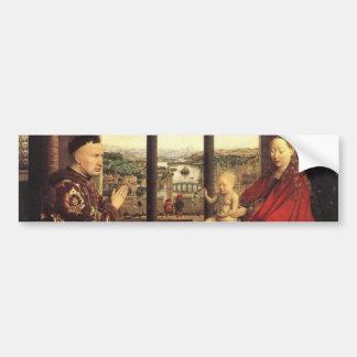 Knights of Christ Ghent Altarpiece Jan van Eyck Bumper Sticker