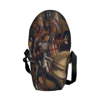 Knights of Christ (Ghent Altarpiece), Jan van Eyck Commuter Bag