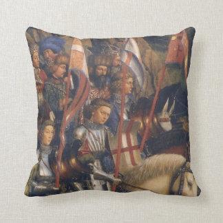 Knights of Christ (Ghent Altarpiece), Jan van Eyck Cushion