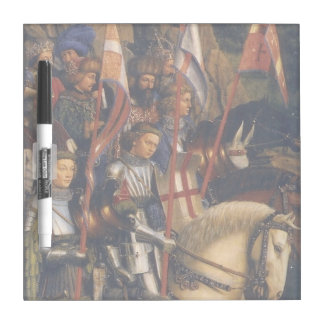 Knights of Christ (Ghent Altarpiece), Jan van Eyck Dry Erase Board