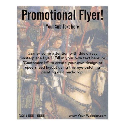 Knights of Christ (Ghent Altarpiece), Jan van Eyck Personalized Flyer