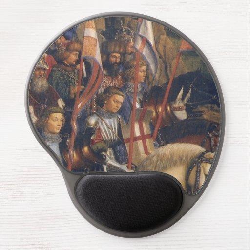 Knights of Christ (Ghent Altarpiece), Jan van Eyck Gel Mouse Pads