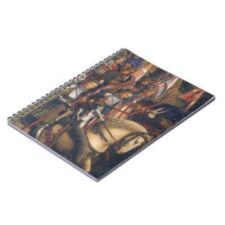Knights of Christ Ghent Altarpiece Jan van Eyck Notebook