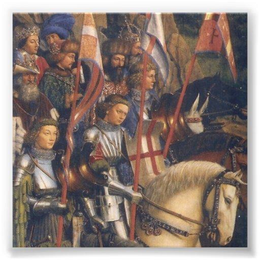Knights of Christ (Ghent Altarpiece), Jan van Eyck Photo Art