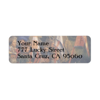 Knights of Christ (Ghent Altarpiece), Jan van Eyck Return Address Label