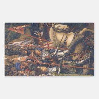 Knights of Christ (Ghent Altarpiece), Jan van Eyck Stickers