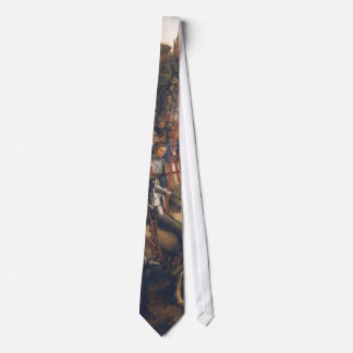 Knights of Christ (Ghent Altarpiece), Jan van Eyck Tie