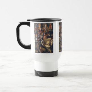 Knights of Christ (Ghent Altarpiece), Jan van Eyck Travel Mug