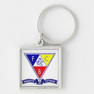 Knights of Pythias Banner Keychain