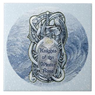 """Knights of the Winter Rose"" Ceramic-tile Ceramic Tile"