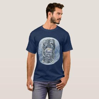 """Knights of the Winter Rose"" T-shirt (Men's, Dark)"