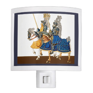 Knights on Horseback Nite Lights