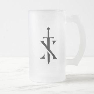 Knights Paladin Frosted Mug