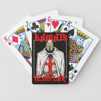 Knights Templar Bicycle Playing Cards