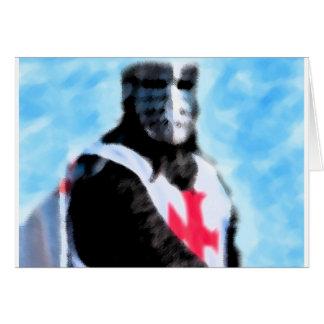 KNIGHTS TEMPLAR CARD