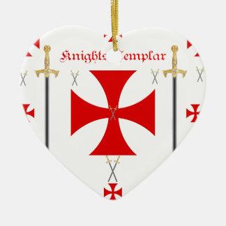Knights Templar Ceramic Ornament