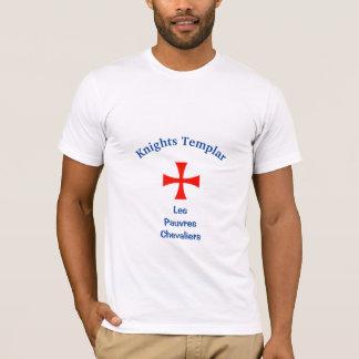 Knights Templar Design #2: T-Shirt (White)