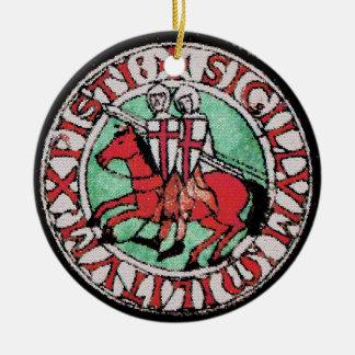 Knights Templar Emblem Ornament