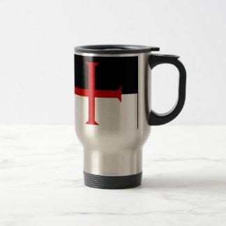 Knights Templar Flag Travel Mug