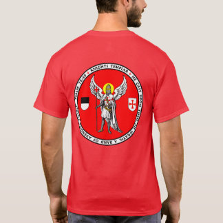 Knights Templar Guardian Angel Seal Shirt