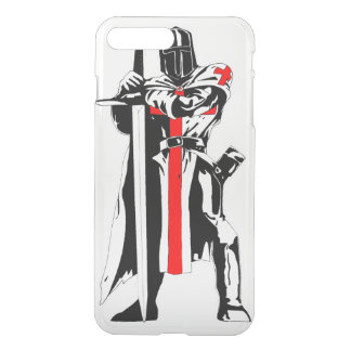 Knights Templar iPhone7 Plus Clearly™ Case
