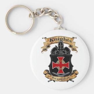 Knights Templar Key Ring