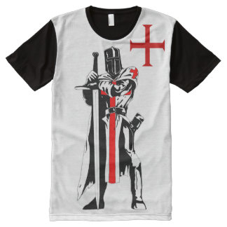 Knights Templar Limited Edition All-Over Print T-Shirt