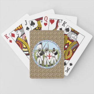 Knights Templar Playing Cards