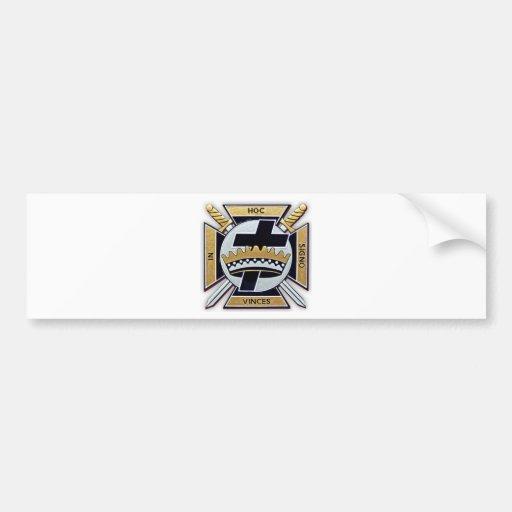 Knights Templar Products Bumper Stickers