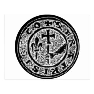 Knights Templar Seal #2 Postcard