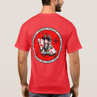 Knights Templar Two Knights Seal Shirt V1