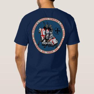Knights Templar Two Knights Seal Shirt V2