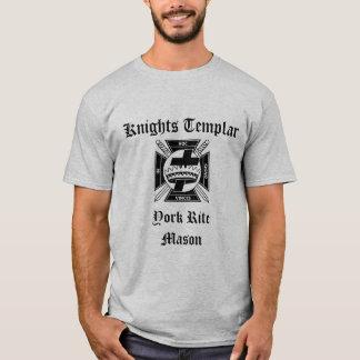 Knights Templar, York Rite Mason T-Shirt