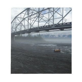 Knik River Bridge Notepad
