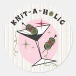 Knit-A-Holic Sticker