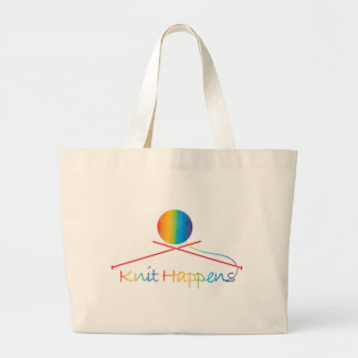 Knit Happens Canvas Bag