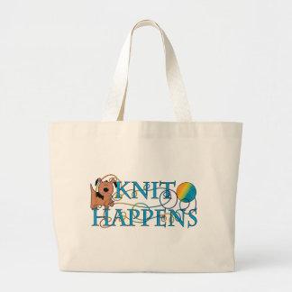 Knit Happens Jumbo Tote Bag