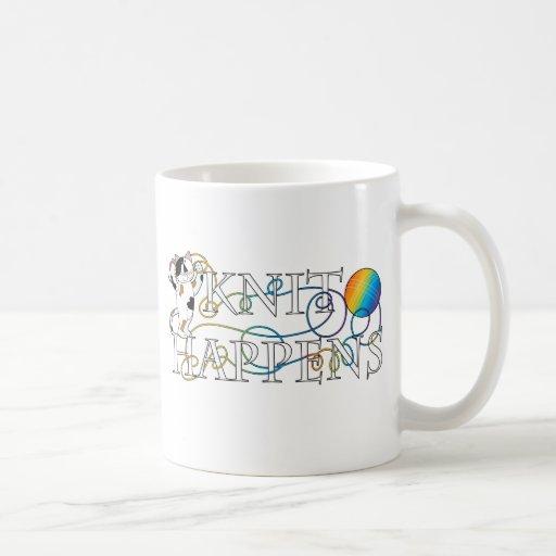 Knit Happens Coffee Mugs