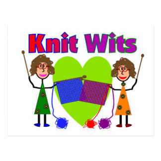 Knit Lovers Gifts Post Cards