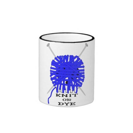 Knit or DYE Mug