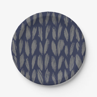 Knit Paper Plates