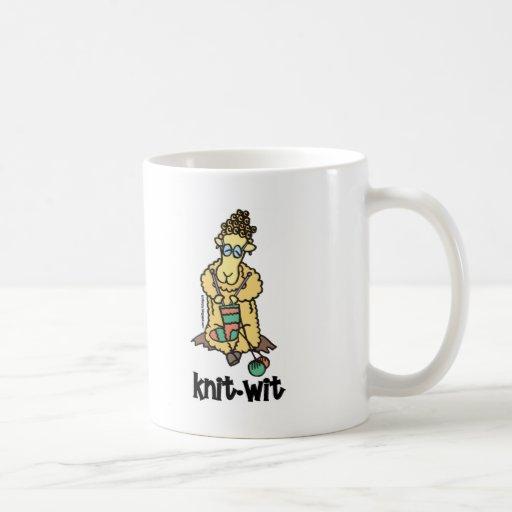 Knit-Wit Coffee Mug