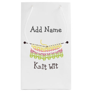 Knit Wit! Small Gift Bag