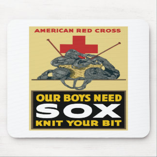 Knit Your Bit -- American Red Cross Mouse Pads