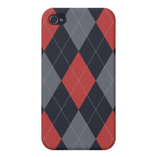 Knitted Argyle Iphone Case