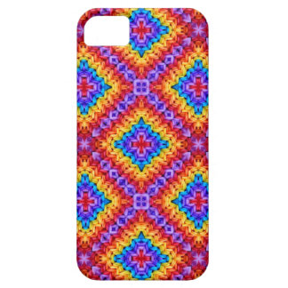 Knitted clolorful pattern iPhone 5 covers