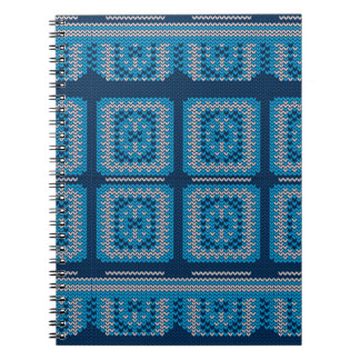 Knitted Decorative Background2 Notebook