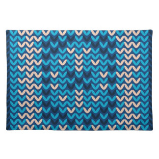 Knitted Decorative Background Placemat