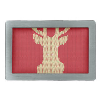 Knitted Deer Belt Buckle